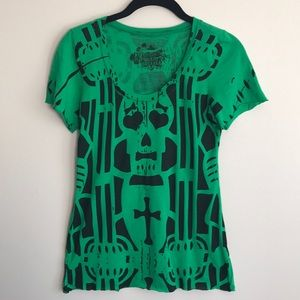 Urban Outfitters skull graphic tee